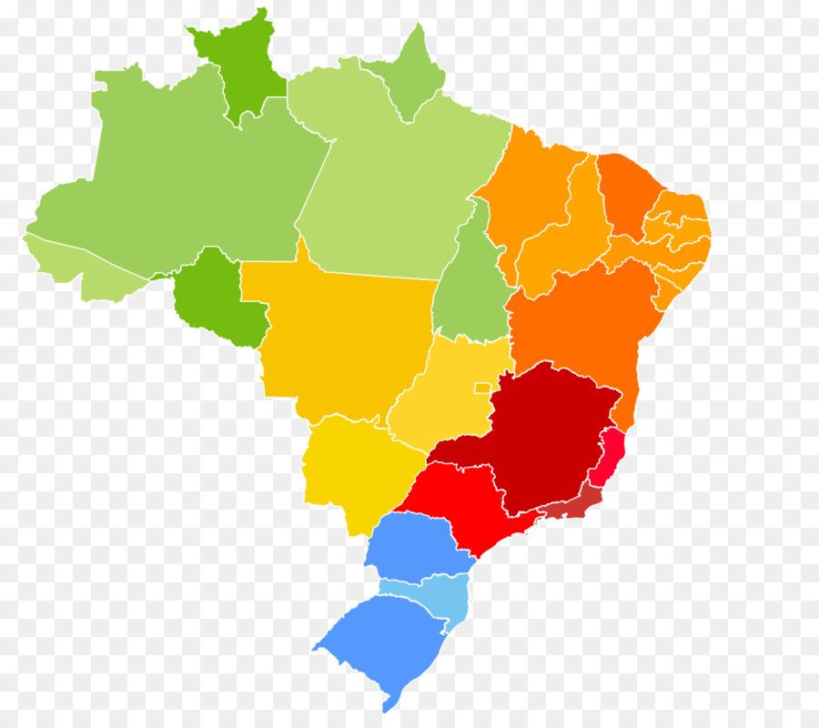regions of brazil clipart Regions of Brazil Central.