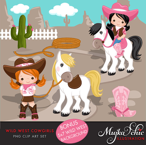 Cowgirl Clipart.
