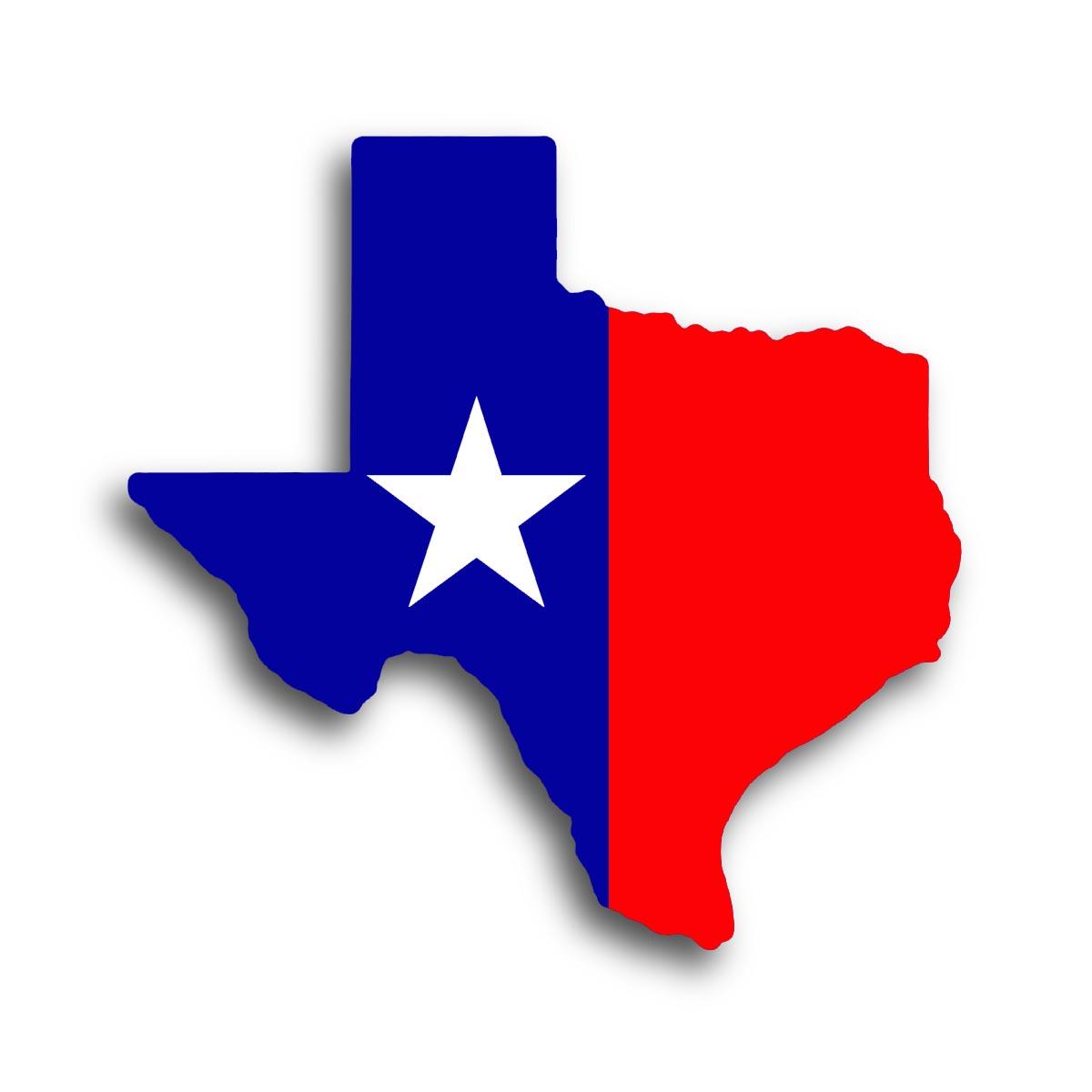 Texas Map Clip Art.