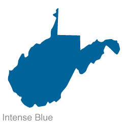 West Virginia State Clip Art.