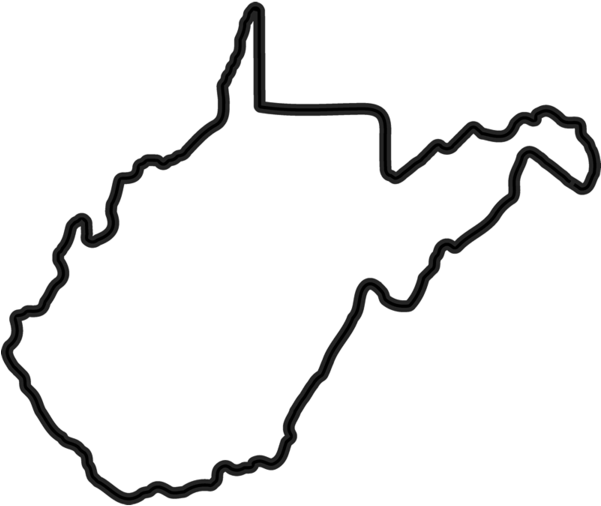 State Of West Virginia Clip Art.