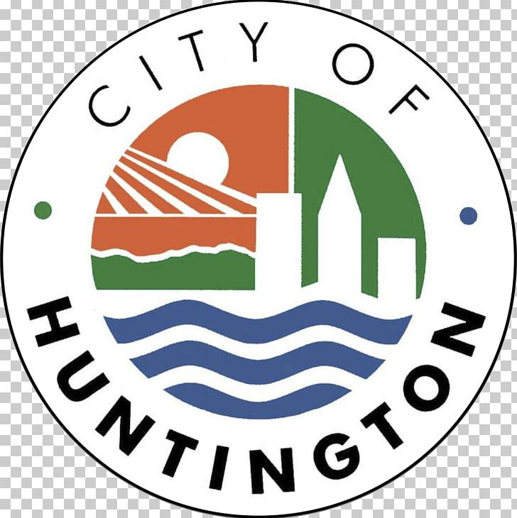 Huntington Flag Of West Virginia Ohio River City PNG.