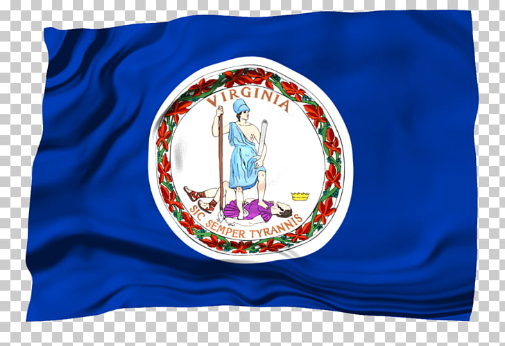 West Virginia Flag and seal of Virginia Page State flag.