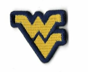 Details about West Virginia WVU Yellow Logo Iron On Embroidered Jersey  Patch Nike Football.