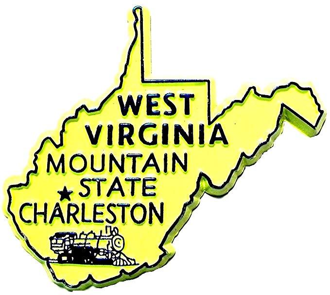 Amazon.com: West Virginia the Mountain State Souvenir Fridge.