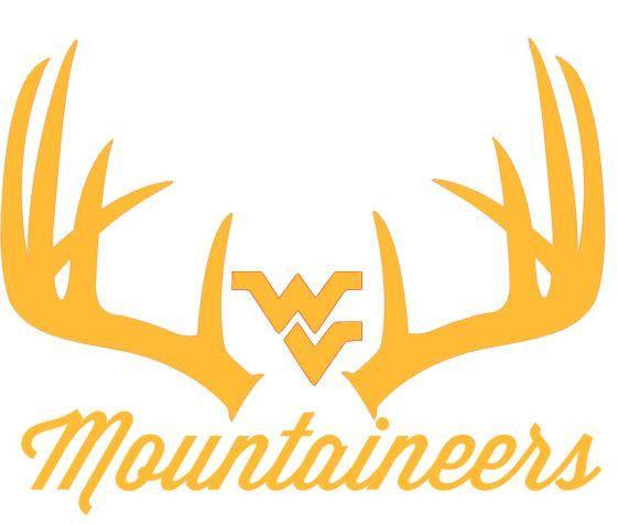 Details about West Virginia Mountaineers Deer Hunting Antler.