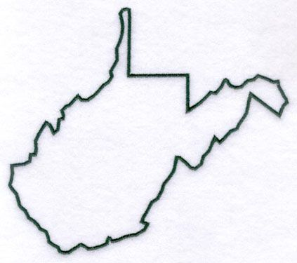 West Virginia Outline, you never know when ou might need one.