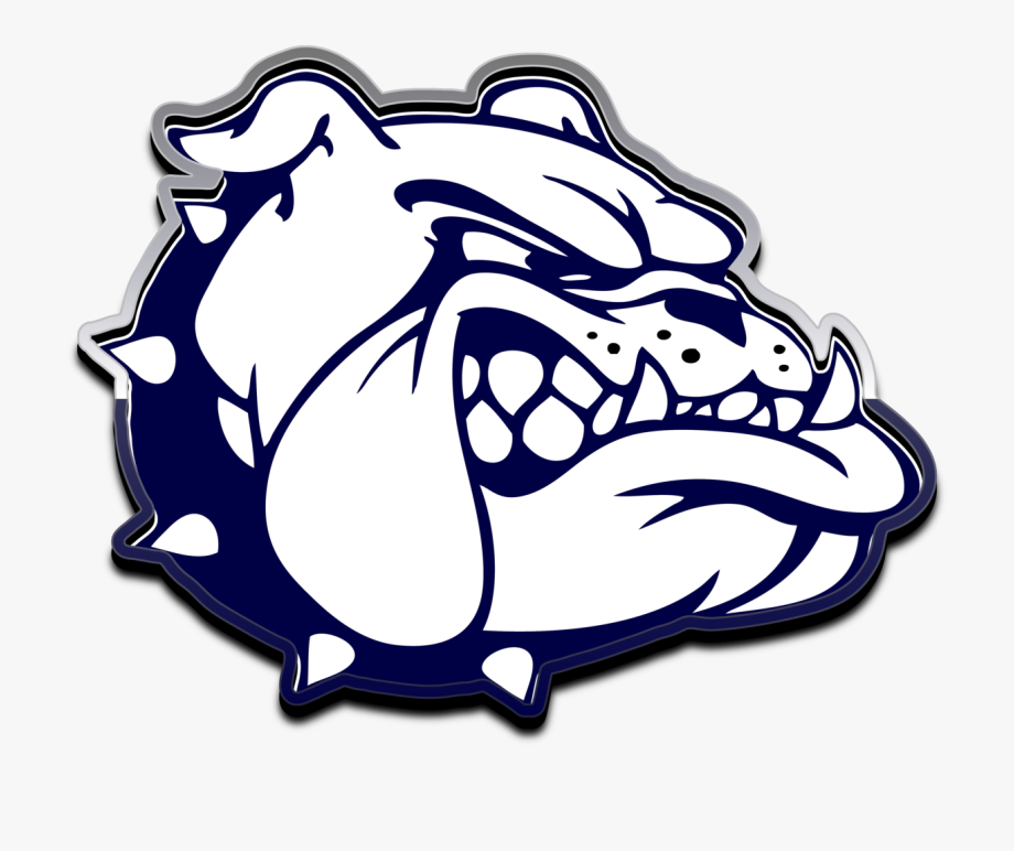 Bulldog Football Clipart.
