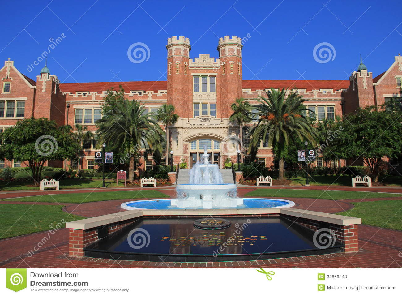 Florida State University Editorial Stock Photo.