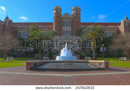 Westcott Building On Campus Florida State Stock Photo 2200042.