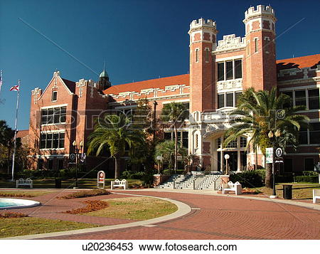 Stock Photo of Tallahassee, FL, Florida, FSU, Florida State.
