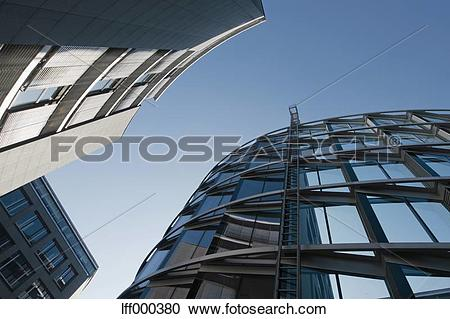Stock Photography of Germany, Bavaria, Munich Westend, Exterior of.