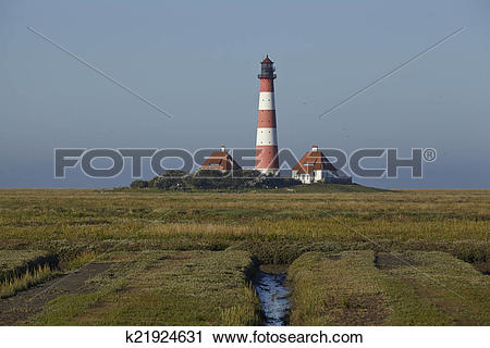 Stock Photography of Westerhever (Germany).