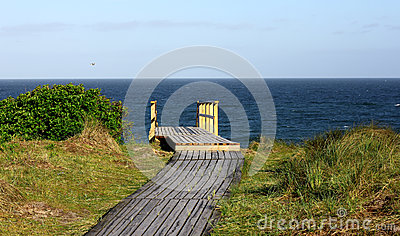 North Sea Island Of Sylt Westerland!! Stock Photo.