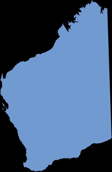 Western Australia Blue Clip Art at Clker.com.
