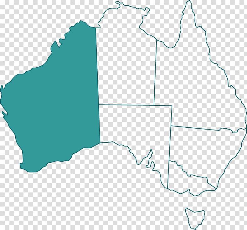 Blank map South Australia Western Australia Flag of.
