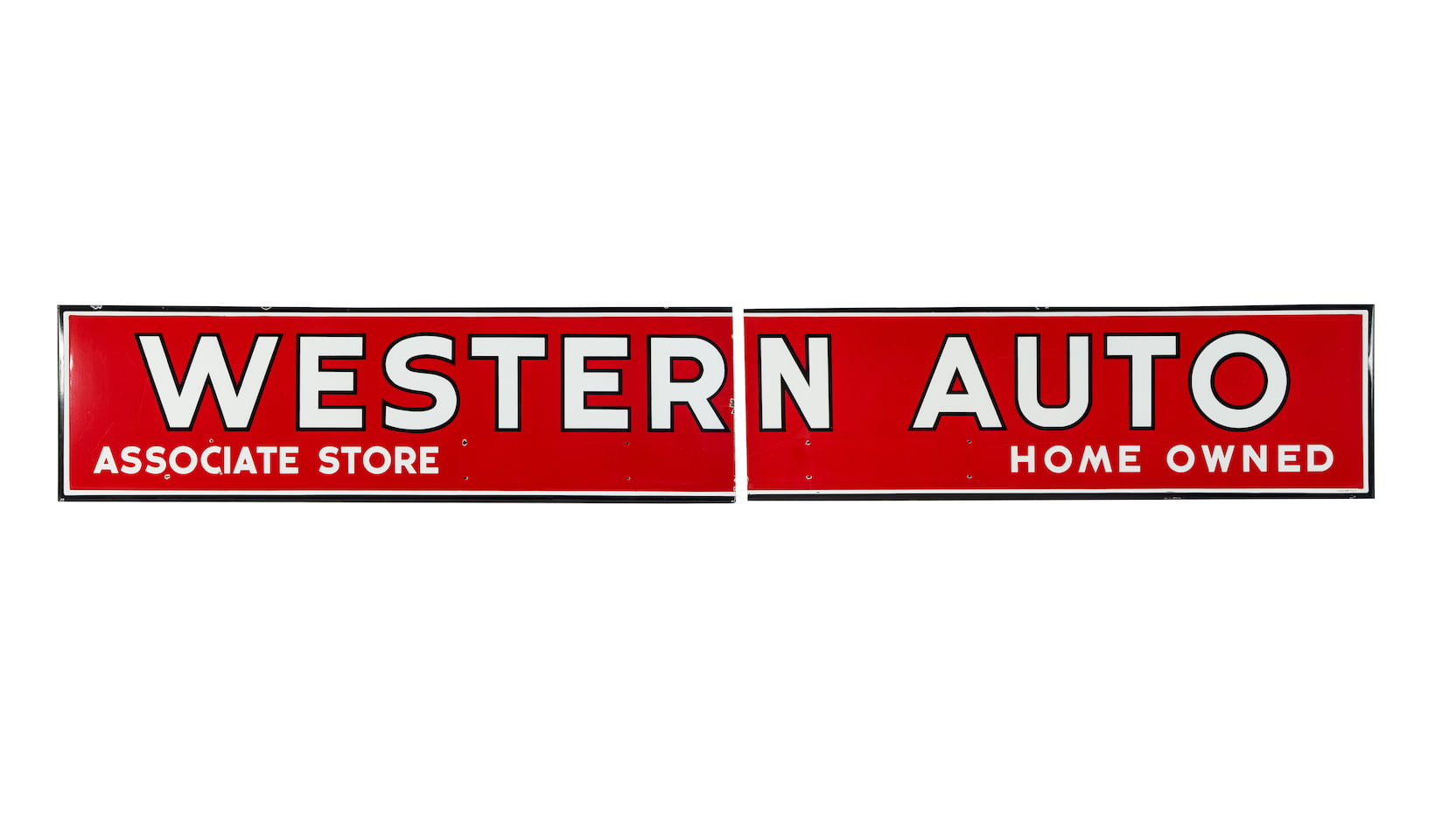 Western Auto 2 Piece SSP Sign 192x28.