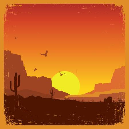 Western Background Clipart.
