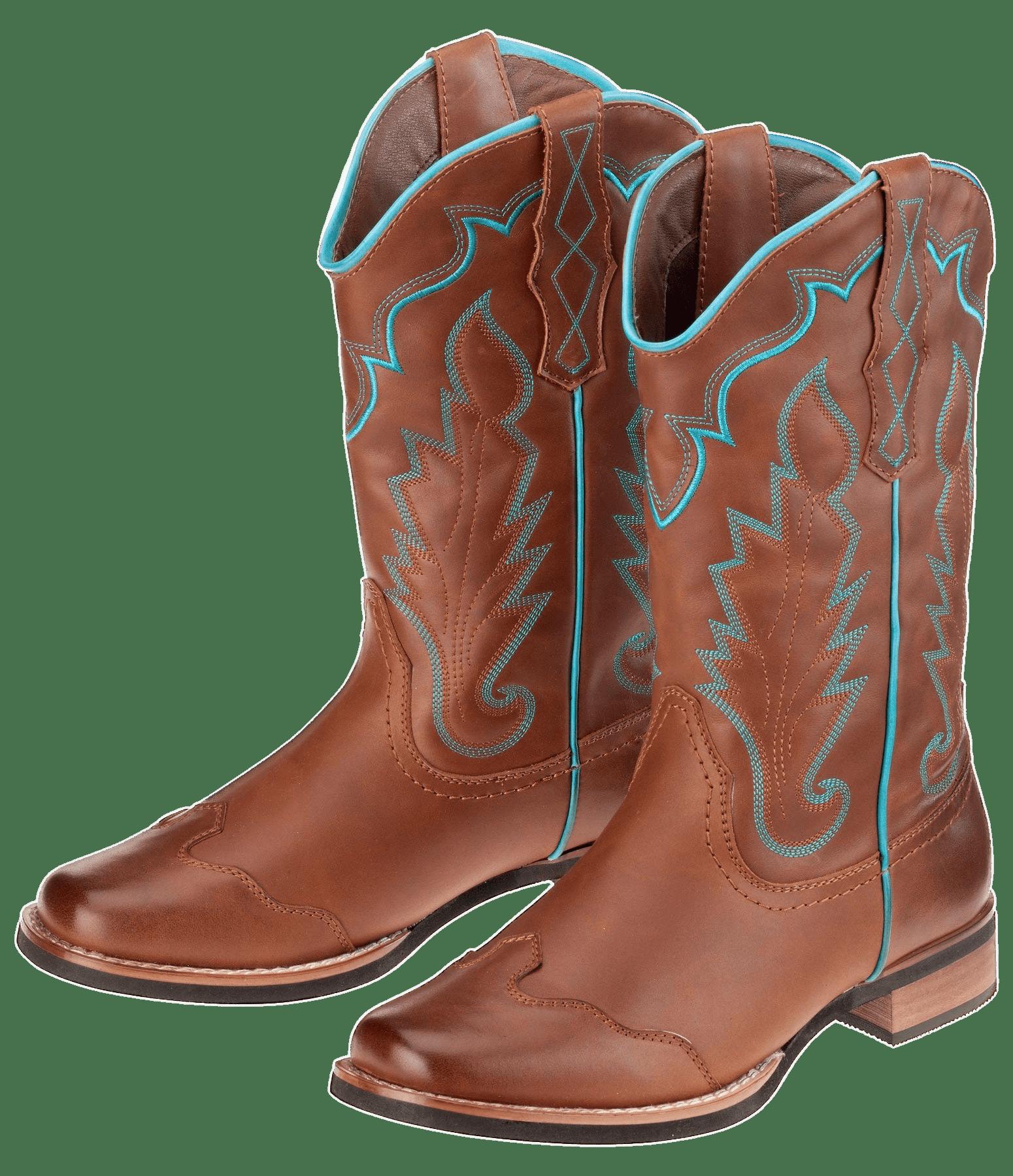 Western Riding Cowboy Boots transparent PNG.