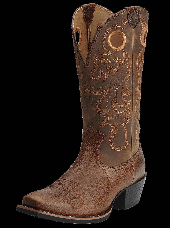 Ariat Men's Sport Square Toe Cowboy Boot.