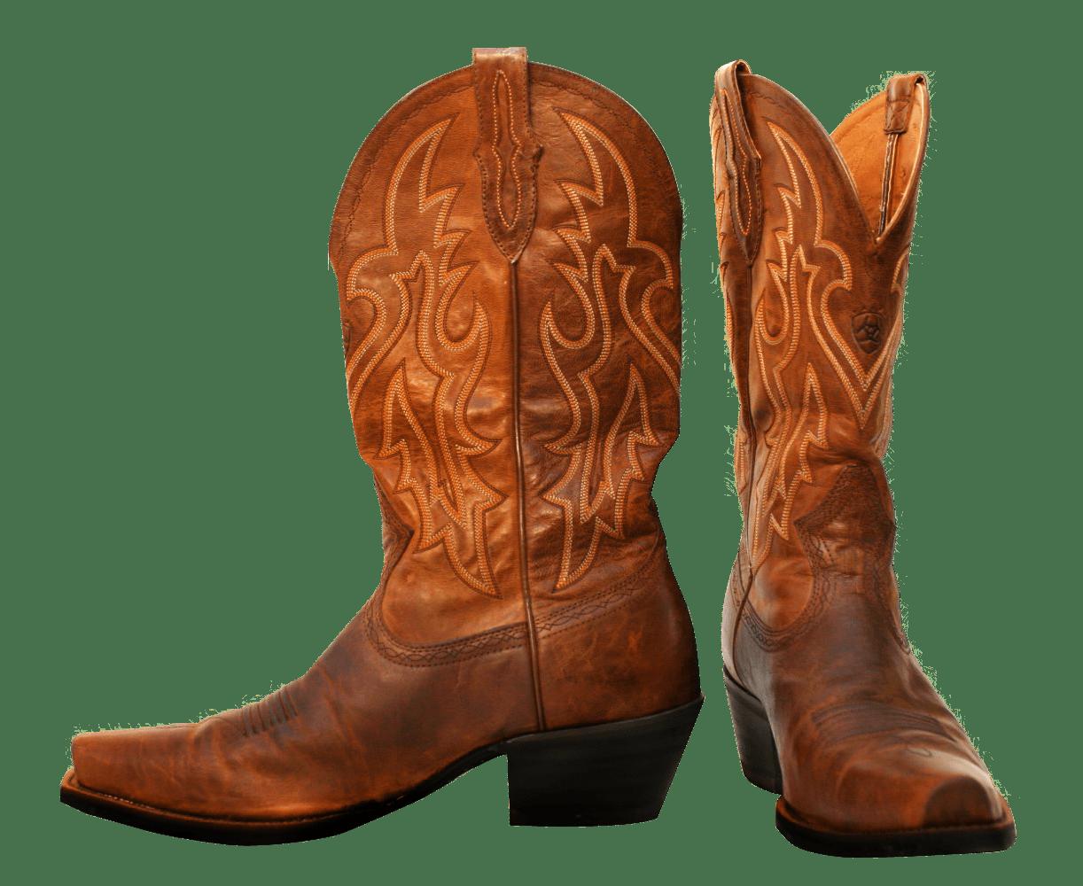 Pair Of Cowboy Boots transparent PNG.