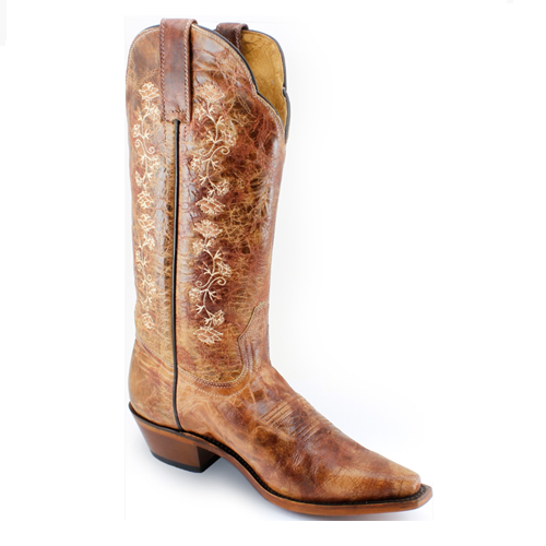 Ladies Rugged Country #0833 Western Boot by Boulet.