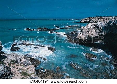 Stock Photo of Coast near Arniston, South Western Cape, South.