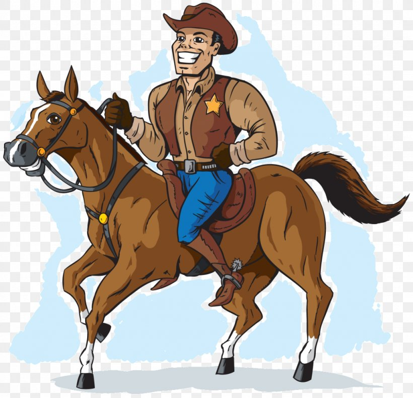 American Paint Horse Equestrian Cowboy Clip Art, PNG.
