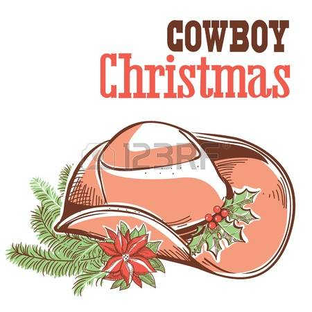 539 Cowboy Christmas Cliparts, Stock Vector And Royalty Free.