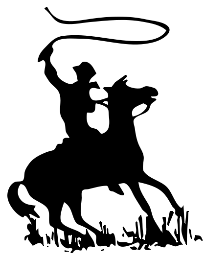 Free Black And White Cowboy Pictures, Download Free Clip Art, Free.