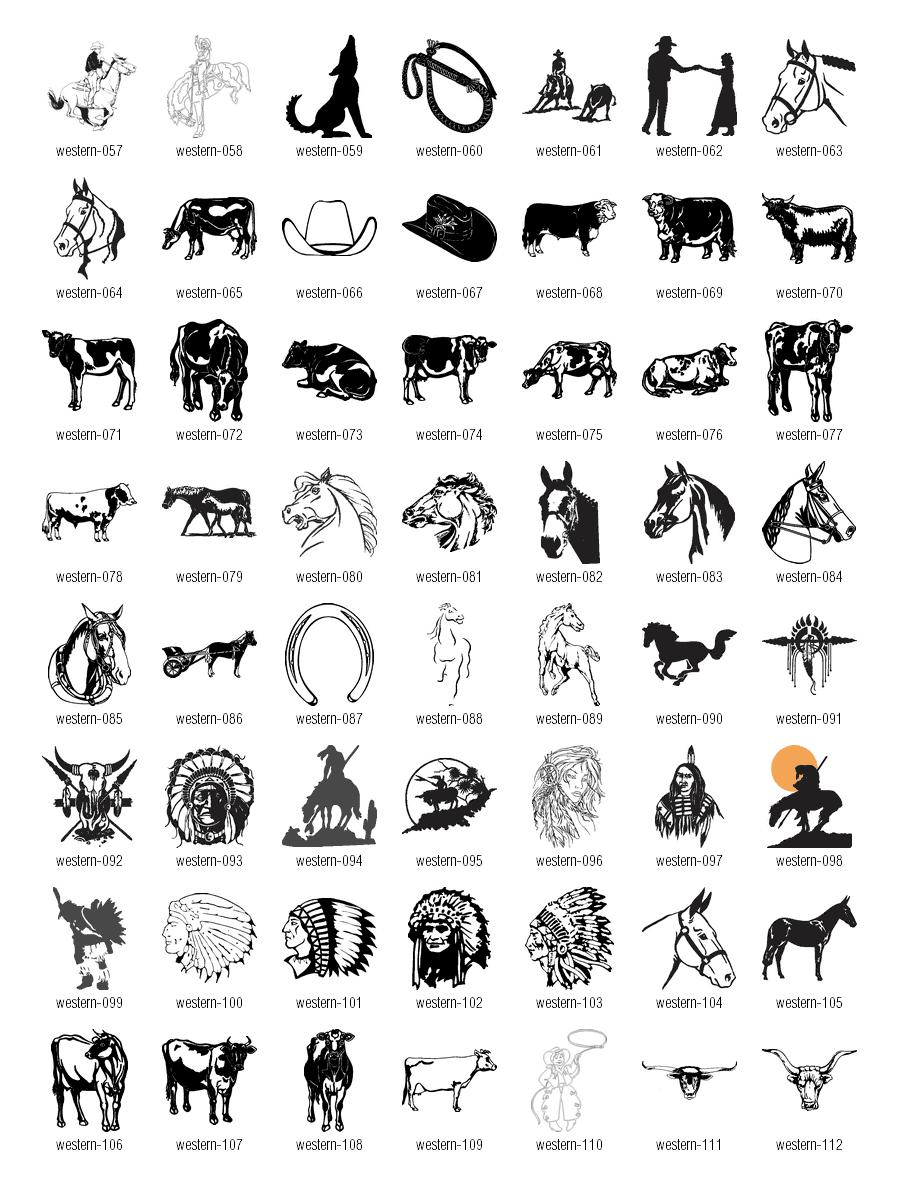 64+ Free Western Clip Art.