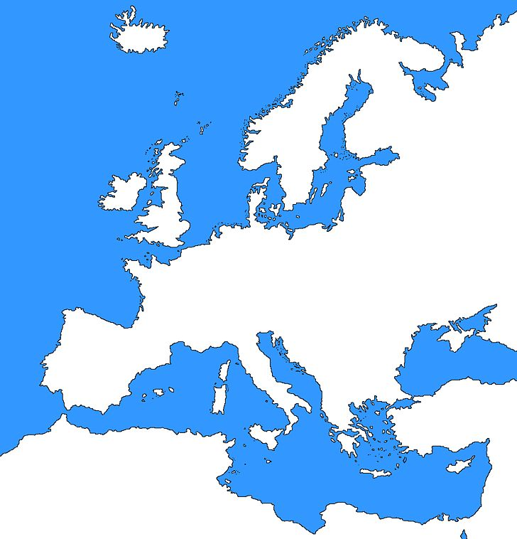 Europe Blank Map Border World Map PNG, Clipart, Area, Blank.