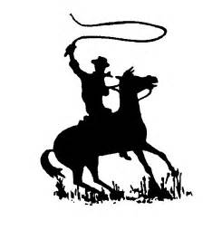 Western Cowboy Clipart Black And White Free Clipart Images » Home.