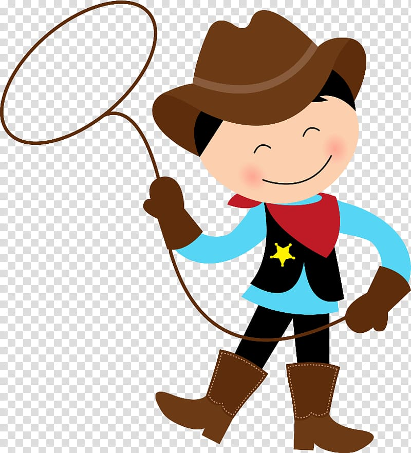 Pequeno Cowboy Western , cowboy transparent background PNG.