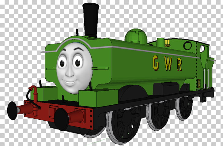 Thomas & Friends Duck the Great Western Engine Toby the Tram.