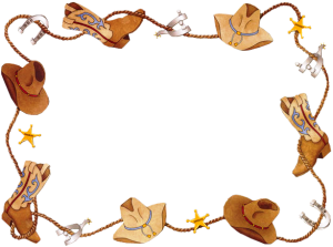 Where to Find Free Western Clipart Borders.