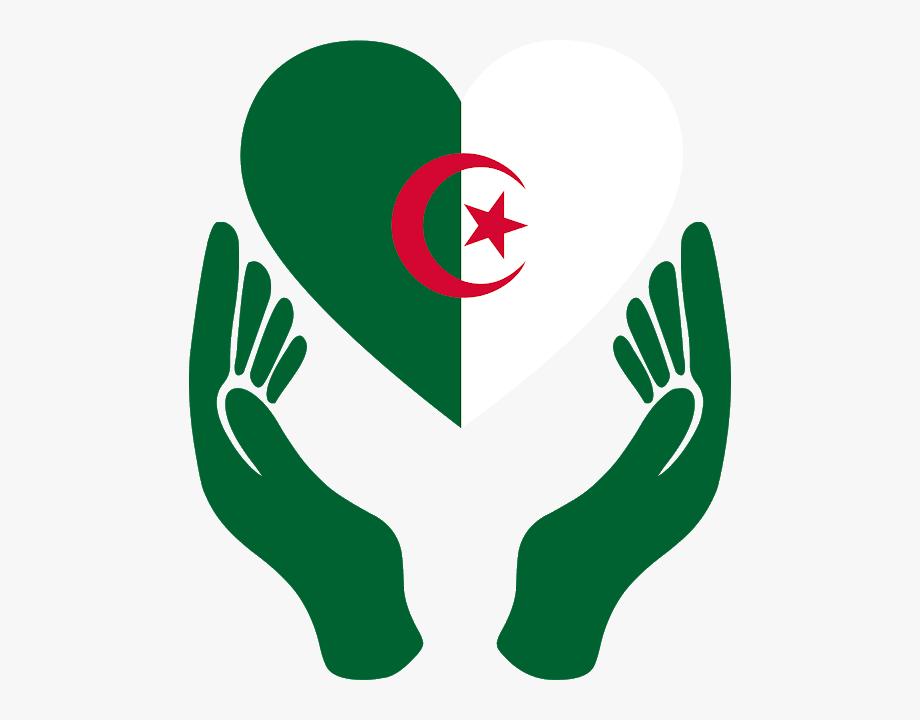 Download Algeria Flag Love Svg Eps Png Psd Ai Vector.