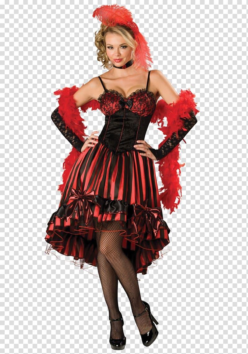 American frontier Halloween costume Western saloon Dress.