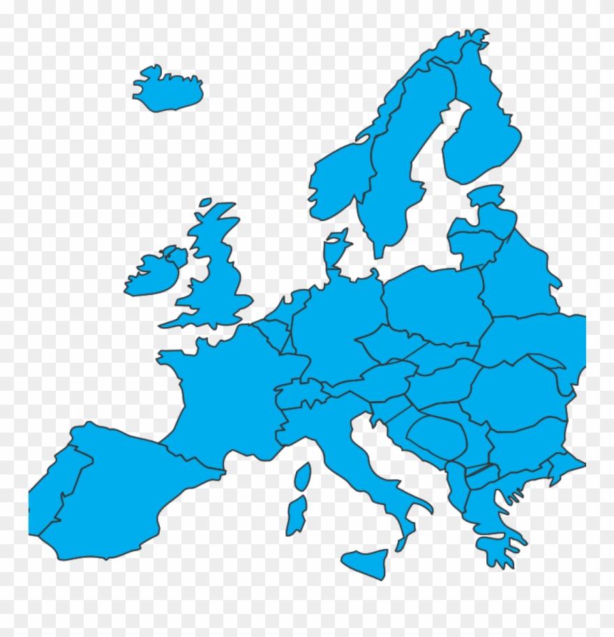 Map Of Europe Clip Art Free Clipart European Map Netrat.