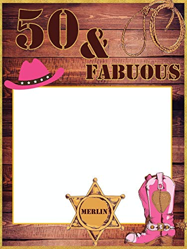 Amazon.com: Custom Western Party Photo Booth Prop.