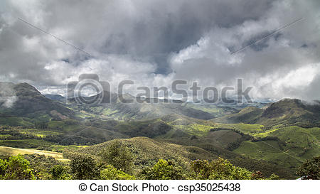 Stock Photos of The Western Ghats.