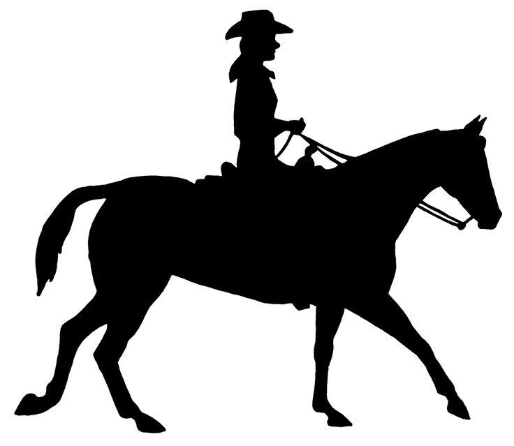 Western Pleasure Horse Clipart.