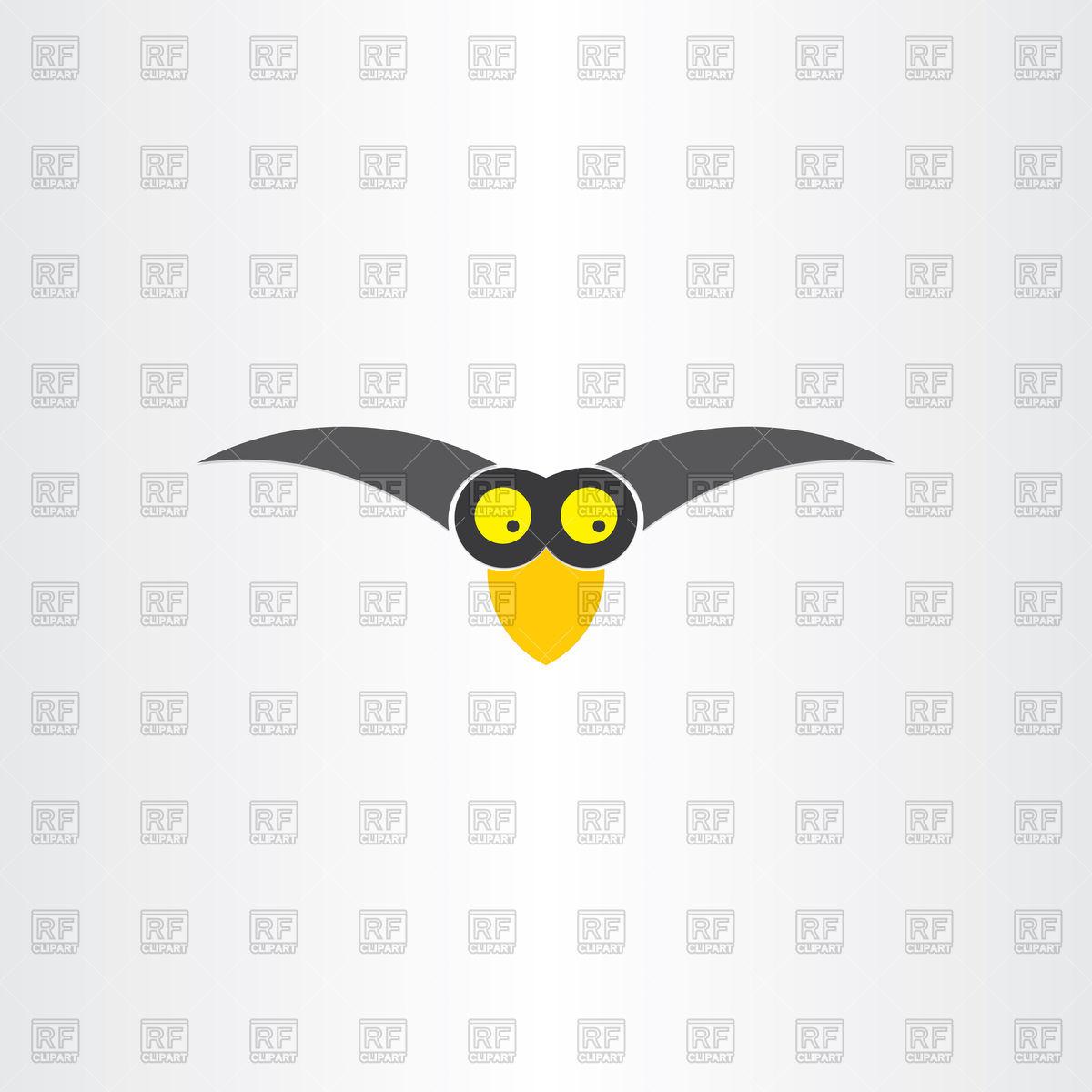 Funny western jackdaw bird cartoon icon Vector Image #102453.