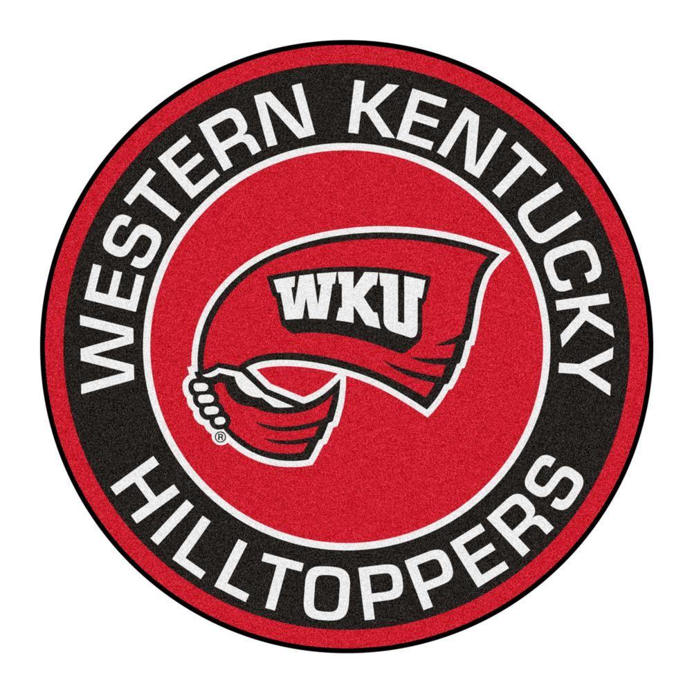 FANMATS NCAA Western Kentucky University 27 in. Round.