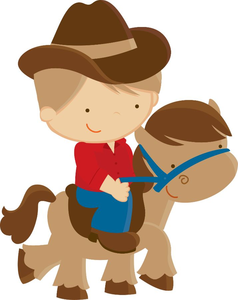 Free Western Clipart Kids.