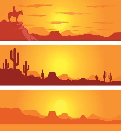 Arid Landscape Clip Art, Vector Images & Illustrations.
