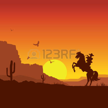 2,255 Western Landscape Stock Illustrations, Cliparts And Royalty.