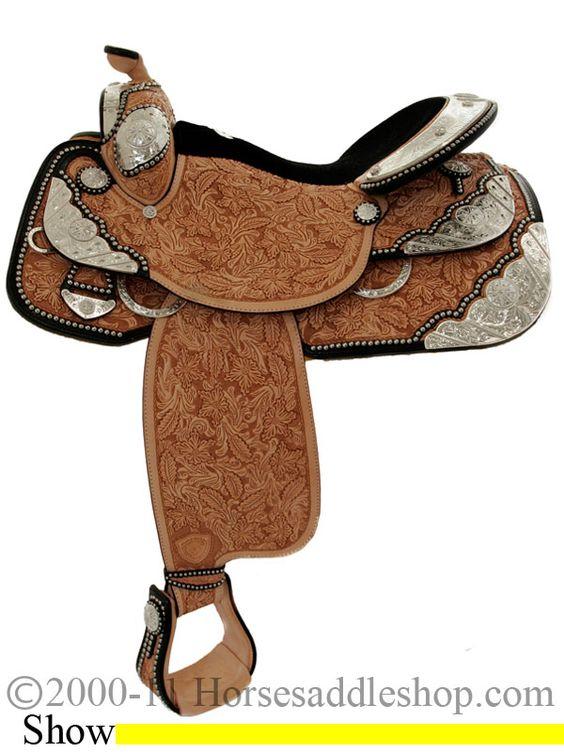 16inch Tex Tan Premium Show Saddle http://nashvillecalifornia.com.