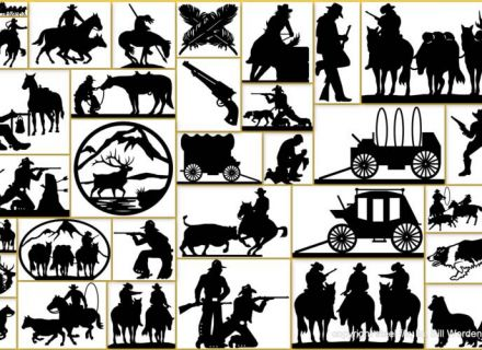 Cowboy western, Clip art and Graphics on Pinterest, Western Art.