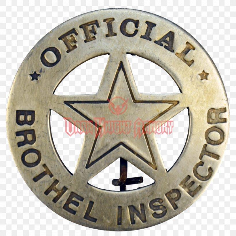 American Frontier Badge Western Saloon Police Cowboy, PNG.